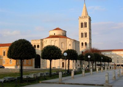 Church of st. Donat in Zadar